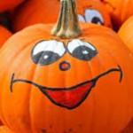 octoberfest pumpkin face